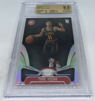 2018-19 Certified Trae Young RC Silver Mirror Holo BGS 9.5 GEM MINT TOP GRADED