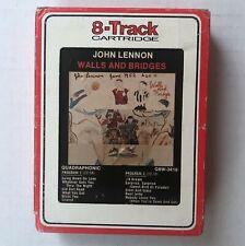 JOHN LENNON Walls And Bridges 1974 APPLE Records QUAD 8-Track CARTRIDGE Beatles