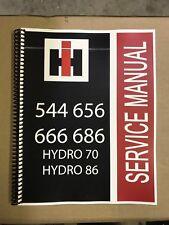 656 666 International Harvester Tractor Technical Service Shop Repair Manual