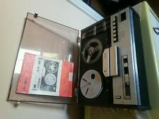 PHILIPS N4414 STEREO 4 TRACK REEL TO REEL 1 OWNER FROM NEW NEEDS ATTENTION.