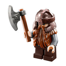 LEGO Minifigure Dwarf Gimli 9473 Mines of Moria New Mint Lord of the Rings w/axe