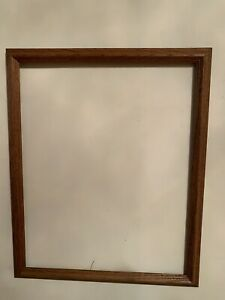 Picture Frame Wood Dark Color 18x22 and 20x16 Inches