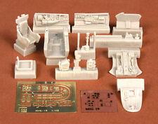 S.B.S Models, 1:48, 48025, MIG-19 PM cockpit set for Trumpeter kit
