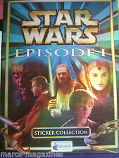 RARE MERLIN STAR WARS EPISODE 1 STICKER ALBUM BOOK EMPTY TOPPS LEGO