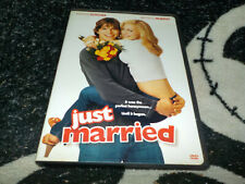 Just Married Dvd +Insert Ashton Kutcher Brittany Murphy Free Shipping