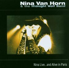 Nina Live... And Alive in Paris by Nina Van Horn & the Midnight Wolf Band CD NEW