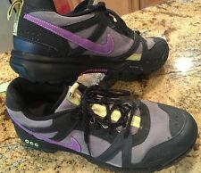 NIKE ACG HIKING SHOES VINTAGE VTG MENS SIZE 10 BLACK & PURPLE & GRAY