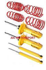 VW Golf 4 kit suspension ressorts amortisseurs