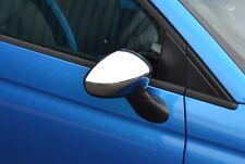 Per ABARTH/FIAT 500/500 C 05+ Fuorigioco O/S Ala Specchio Cromata Trim COVER CAP