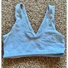 Lamaze women medium gray sports bra