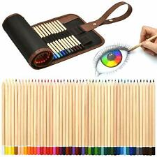 Set da 49 pezzi di matite da disegno colorate di alta qualità + Astuccio