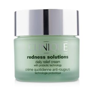 NEW Clinique Redness Solutions Daily Relief Cream 50ml Womens Skin Care