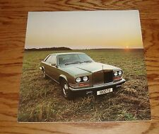 Original 1976 Rolls Royce Camargue Foldout Sales Brochure 76