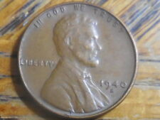 1940-S Lincoln Cent (seller's#737)Buy additional coins Pay one coin shipping fee