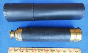 Early 1900s Telescope by the French Firm, Tower Fine Optics - 30x magnification