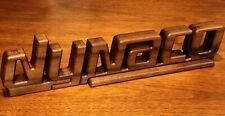 New listing Dynaco Stereo Vintage Logo Wood Sculpture - St70 Pas 1 2 3 4 Pat A25 Mk Iii 400