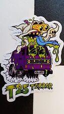 ¡T25 Terror! sticker by ¡DANGER SIGN! hot rod VW custom dub t25 wedge ghost