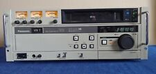 vintage Panasonic AG-7510 video cassette player from radio station