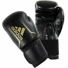 25.99 new ADIDAS SPEED 50 BOXING GLOVES - BLACK/GOLD or red all sizes FREEPOST