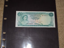 BAHAMAS MONETARY AUTHORITY, ONE DOLLAR CURRENCY NOTE, Q509636