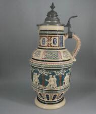 Historismus (1851-1889) Porzellan-Krüge, - Kannen & -Flaschen & Keramik-Antiquitäten & -Kunst