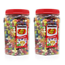 Kirkland Signature Jelly Belly Original Gourmet Jelly Beans 1.8kg x2