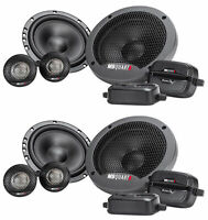 "(2) Pairs MB QUART FSB216 6.5"" 280 Watt Car Audio Component Speakers"