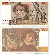 France 100 Francs P#154g(2) (1993) Banque de France VF