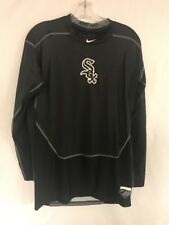 Nike Pro Combat Chicago White Sox Long Sleeve Drifit MLB Compression Mens XL