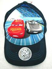 Kid's Disney Cars3 Lightning McQueen Applique Snapback Closure Baseball Cap-New!