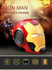 Cool Iron Man Helmet Bluetooth V4.2 Rechargeable Speaker with FM Radio