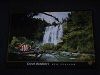 GREAT OUTDOORS NEW ZEALAND POSTCARD