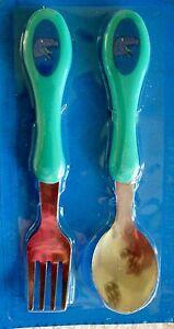 New Kids Dinosaur flatware Fork & Spoon -  boy or girl