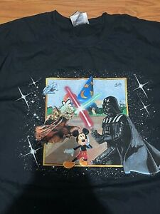 Star Wars Weekends Disney Logo 2006 XXL 2XL Shirt Brand new with Tags!