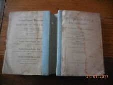 TECHNOLOGICAL DICTIONARY 1897 -ANCIEN DICTIONNAIRE FRANÇAIS - ANGLAIS - ALLEMAND
