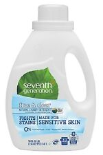 Seventh Generation Natural 2X Concentrate Liquid Laundry Detergent Free & Clear