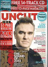 UNCUT UK Take 200 January 2014 Lou Reed Beatles +Free BEST of 2013 CD & 52pg Mag