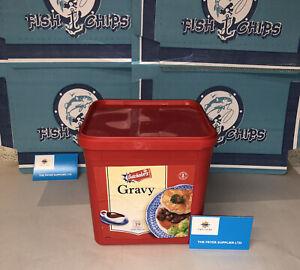 BATCHELORS Gravy Mix 2.5kg Tub FISH AND CHIP , CAFE, ROAST DINNER