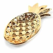 Gold Painted Pineapple Design Trinket Tray