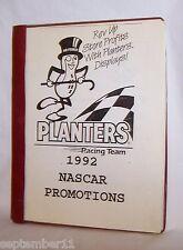 Planters Peanuts Racing Team 1992 Nascar Promotions Store Displays & Price List