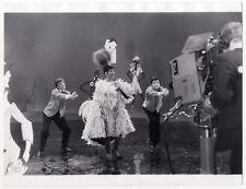 Joséphine Baker Télévision Photographie de Presse Vintage Argentique