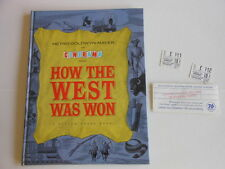 HOW THE WEST WAS WON 1963 ORIGINAL SOUVENIR PROGRAM + ORIGINAL ADMISSION TICKETS