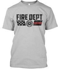 Firefighter Charcoal - Fire Dept Premium Tee T-Shirt