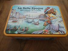 BOITE à GATEAUX - LA BELLE EPOQUE - Biscuiterie artisanale Frontignan-boîte vide