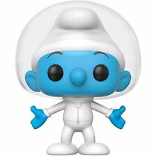 FLAWED BOX Smurfs Astro Smurf POP Vinyl Figure FUNKO