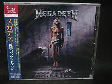 MEGADETH Countdown To Extinction + 4 JAPAN SHM CD Metallica MD.45 Vixen Hawaii