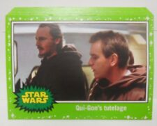 2017 Topps Journey to Star Wars The Last Jedi Green Starfield Lot of ( 18 )