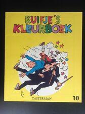 Album Cahier à colorier  Kuifje's Kleurboek Tintin N° 10 1971 ETAT NEUF