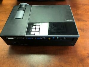 Dell Projector with Remote, Case & Cables