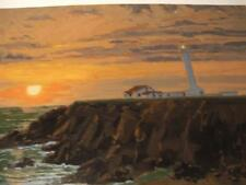 """""""Point Arena"""" by Lindsay Dawson  hand-signed w COA serigraph embellishments"""